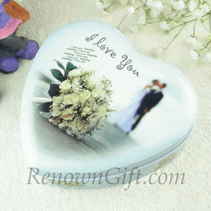 White Flower Mint Tin