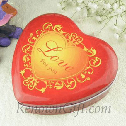 "Mint Tin with ""Love For You"" wording"
