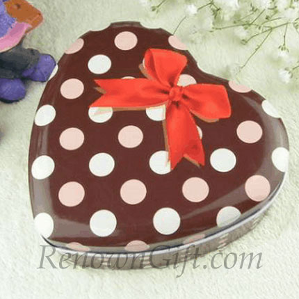 Chocolate Ribbon Mint Tin