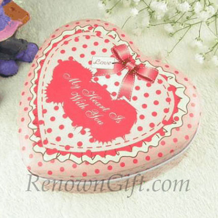"""My Heart Is With You"" Mint Tin"