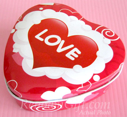 MT29 Love & Heart Shaped Mint Tin