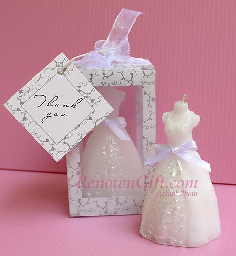 lilin gaun pengantin