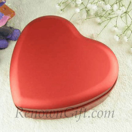 big love shaped mint tin pudina