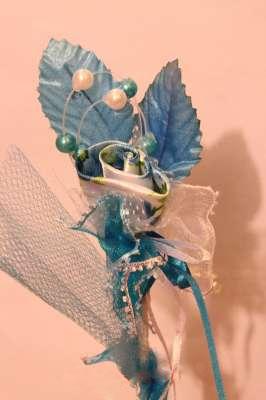 bunga telur blue