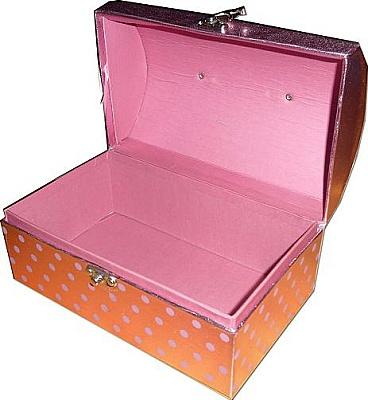 kotak hantaran chestbox pink