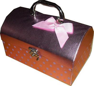 kotak hantaran chestbox pink 2