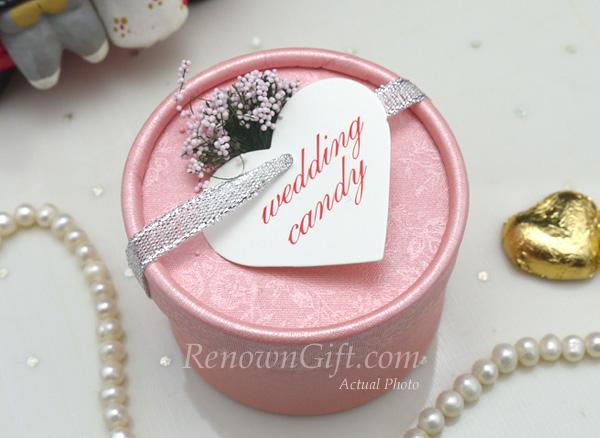 round candy box