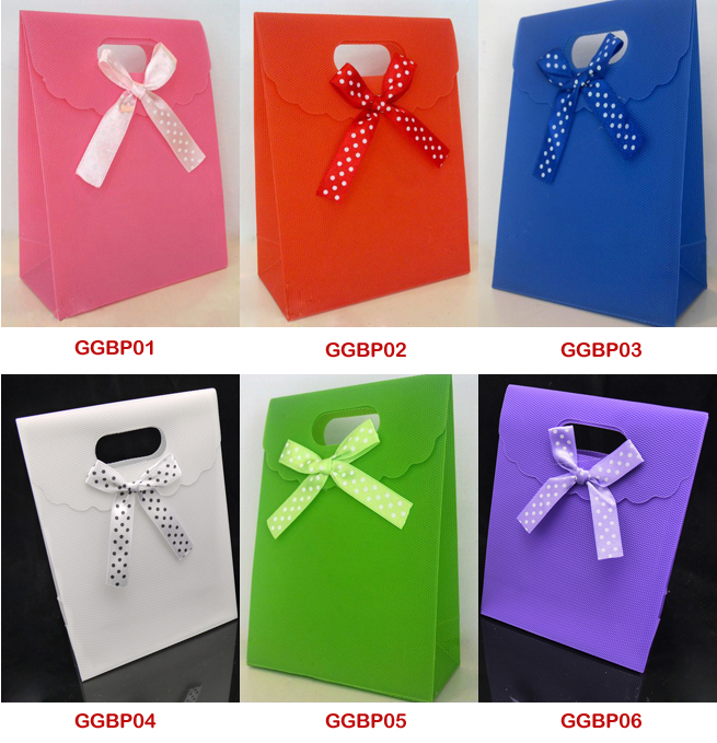 Plain Color Gift Bags