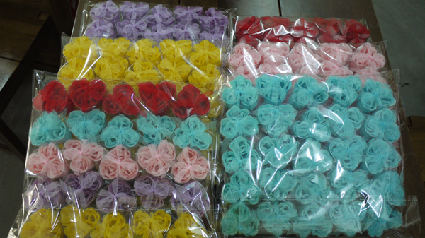 rose soap customer order