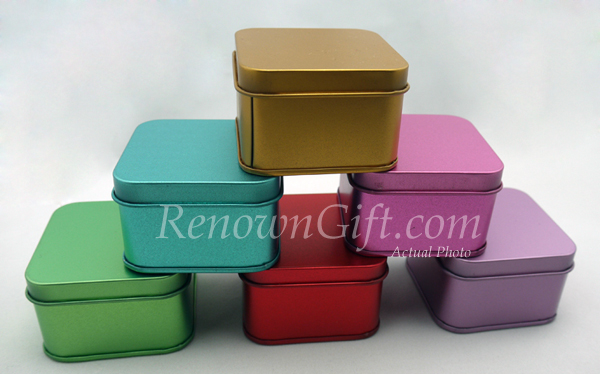 square tin boxes