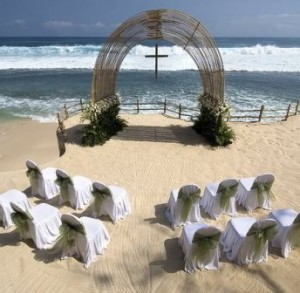 romantic place for reception