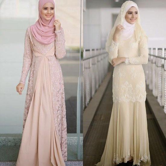 baju pengantin lace