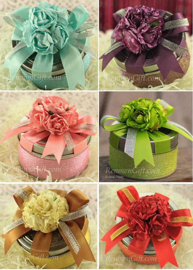 rose tin box