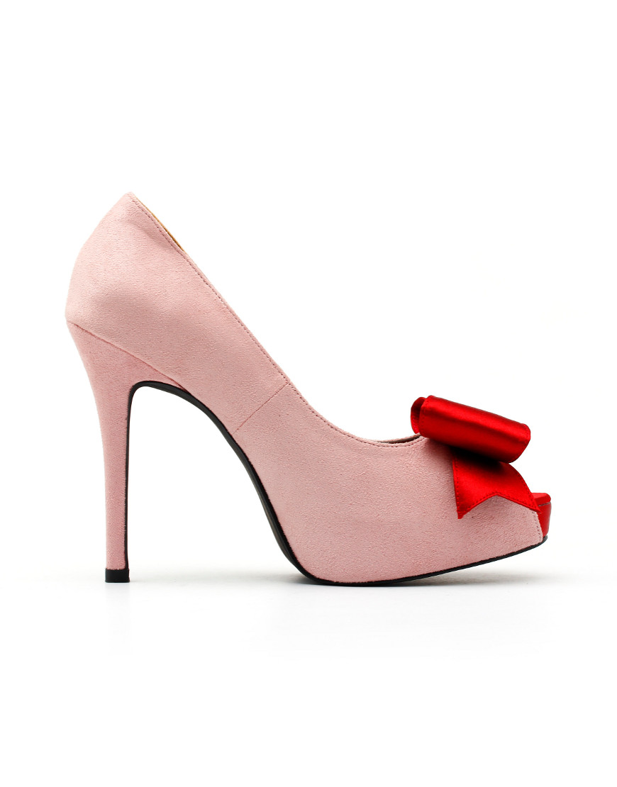 Cranberry Pink Kasut Kahwin
