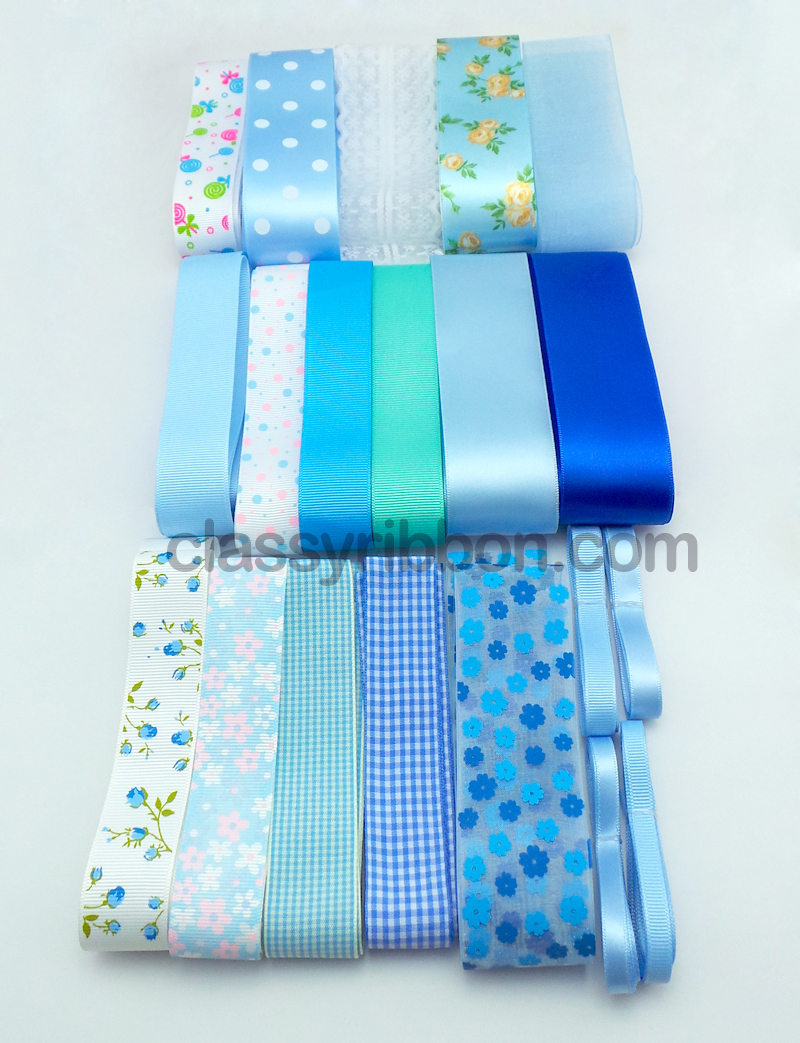 blue theme ribbon
