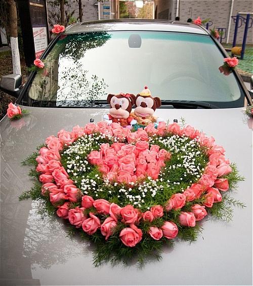 hiasan kereta pengantin