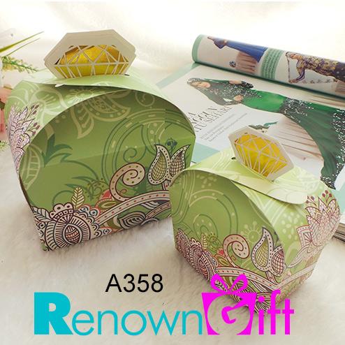 kotak batik hijau