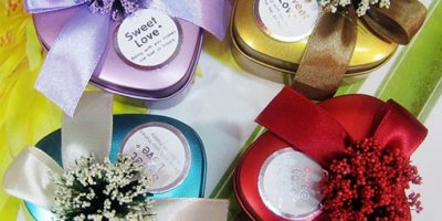 Wedding Favor Tin Boxes