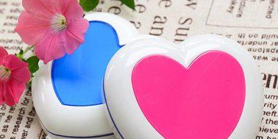 heart shaped manicure set