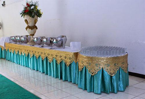 dekorasi buffet upik