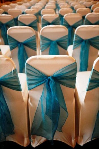 penutup kerusi warna biru