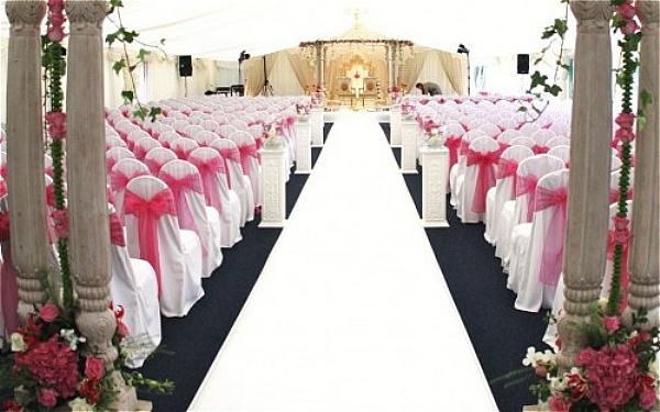 penutup kerusi warna pink