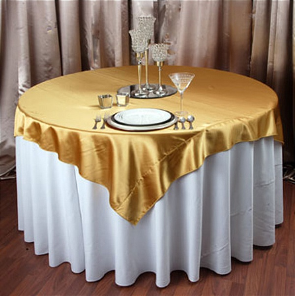top gold chair cover