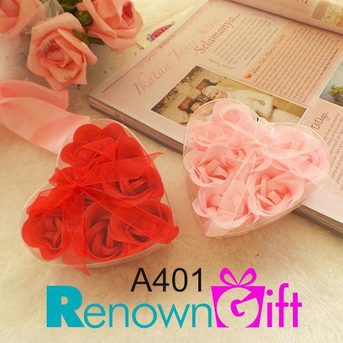 6 rose soap