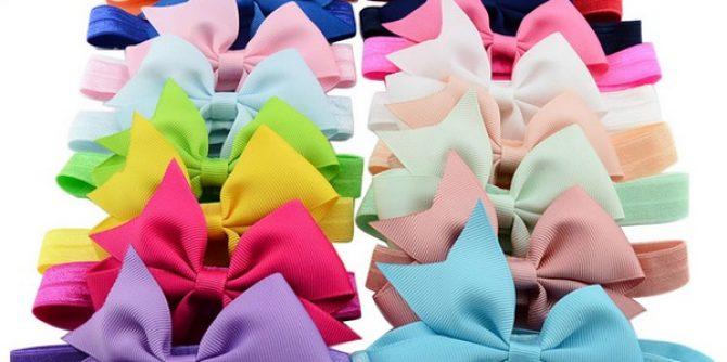 Headband Ribbon Bows