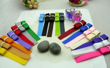multiple grosgrain ribbon