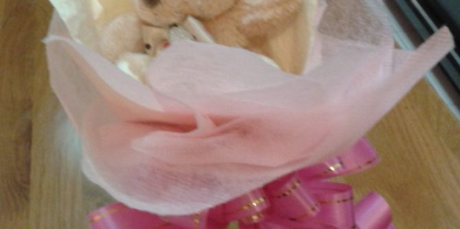 flower dengan ribbon