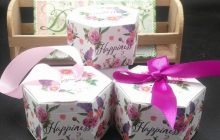 hexagon candy box