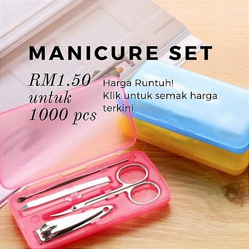 manicure set promotion